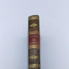 Libros antiguos: NUEVA GUÍA DE CAMINOS DESDE MADRID 1828 RARO EJEMPLAR. Lote 182382578