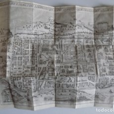 Libros antiguos: LIBRERIA GHOTICA. ADRICOMIO DELPHO.BREVE DESCRIPCIÓN DE LA CIUDAD DE JERUSALEN.1799.CON GRAN MAPA. Lote 182426282