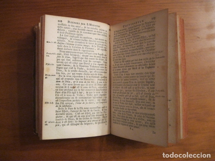 Libros antiguos: Histoire Universelle, 1717,3 Tomos (1-2-3). Bossuet/E.Roger. Posee numerosos mapas - Foto 5 - 182526542