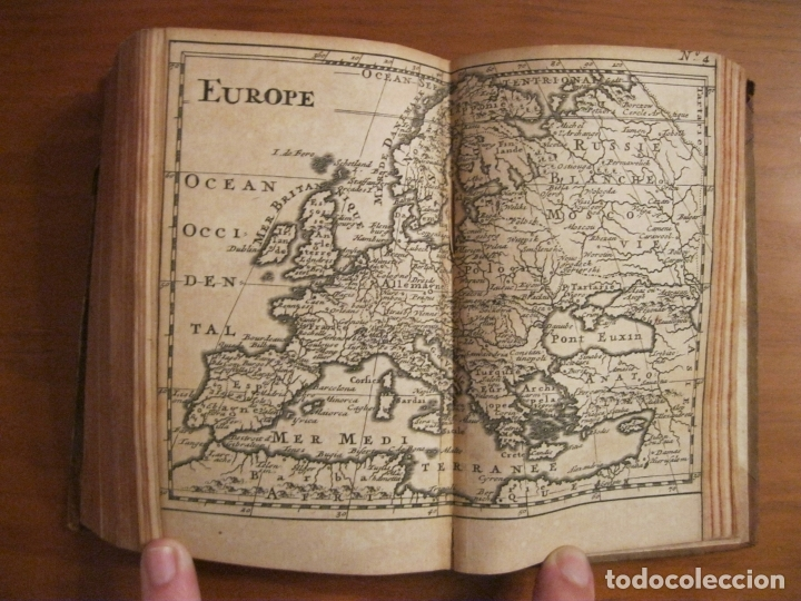 Libros antiguos: Histoire Universelle, 1717,3 Tomos (1-2-3). Bossuet/E.Roger. Posee numerosos mapas - Foto 11 - 182526542