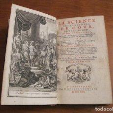 Libros antiguos: LA SCIENCE DES PERSONNES DE COUR, ...T.I, 1729. LIMIERS/CHATELAIN. 18 GRABADOS. Lote 182707242