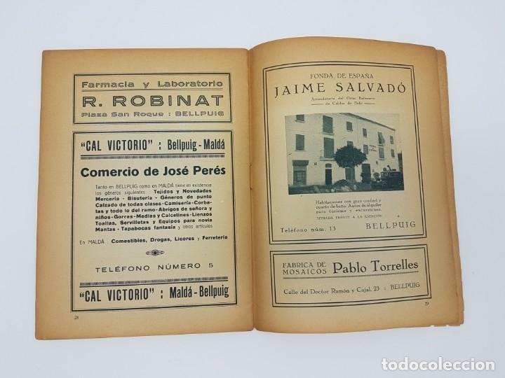 Libros antiguos: TURISMO IBÉRICO CATALUÑA - BELL PUIG ( AÑOS 30 ) - Foto 5 - 182953762