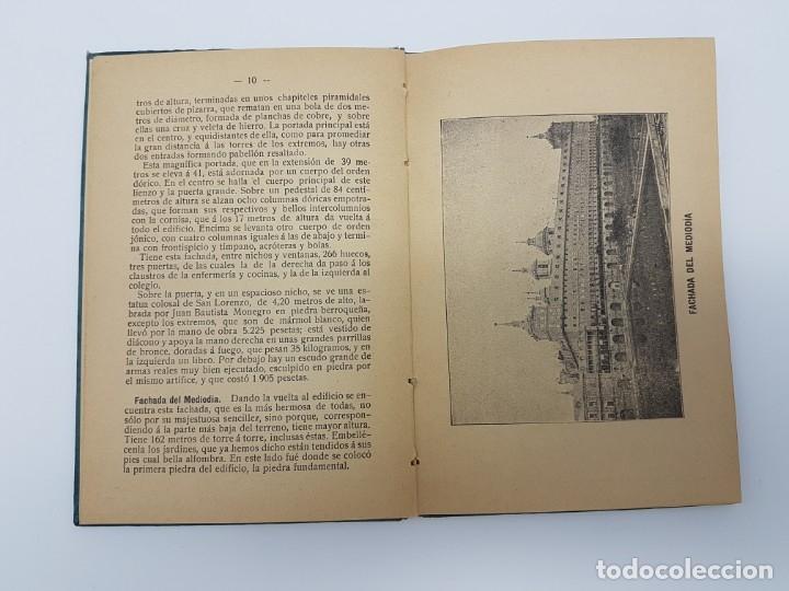 Libros antiguos: GUIA DESCRIPTIVA MONASTERIO DEL ESCORIAL ( 20 AUTOTIPIAS ) COMIENZO DEL SIGLO - Foto 4 - 182955960