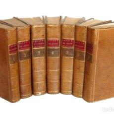 Libros antiguos: 1790 - VIAJE DEL JOVEN ANACARSIS A GRECIA - 7 TOMOS DEL SIGLO XVIII, COMPLETO, PIEL - GRECIA ANTIGUA. Lote 183040830