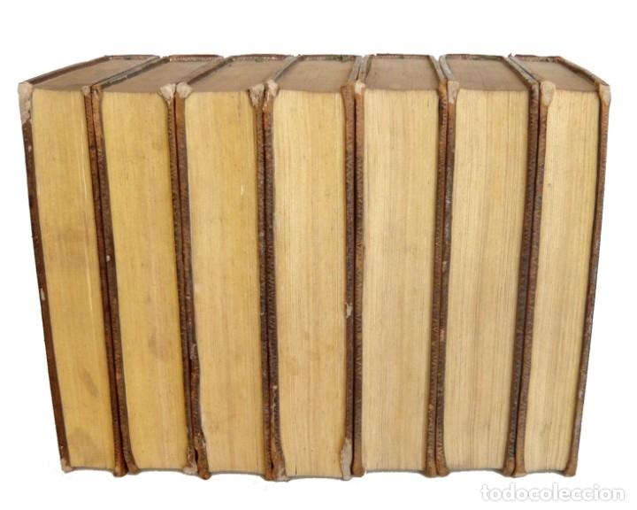 Libros antiguos: 1790 - Viaje del Joven Anacarsis a Grecia - 7 Tomos del Siglo XVIII, Completo, Piel - Grecia Antigua - Foto 4 - 183040830