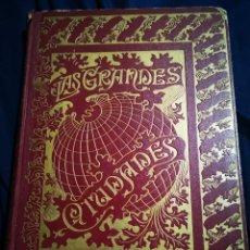 Libros antiguos: LAS GRANDES CIUDADES, PEDRO UMBERT. Lote 183041941