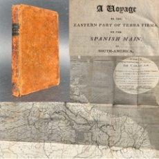 Libros antiguos: 1806 - A VOYAGE TO THE SPANISH MAIN - HISTORIA SUDAMERICA - VIAJES - CARACAS - MAPA. Lote 183063661