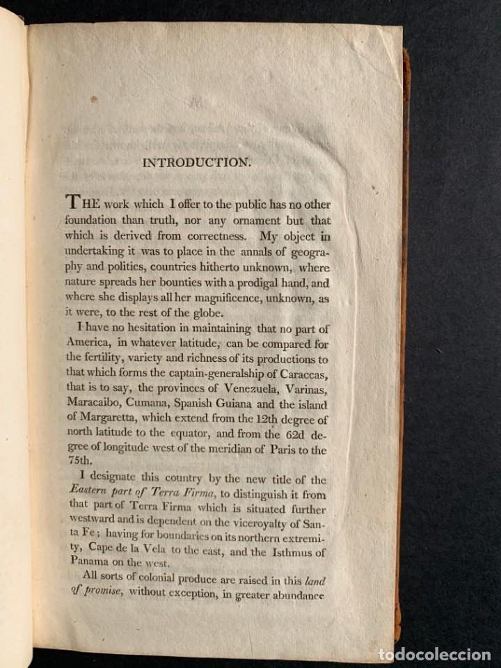 Libros antiguos: 1806 - A VOYAGE TO The Spanish Main - Historia sudamerica - Viajes - Caracas - Mapa - Foto 7 - 183063661