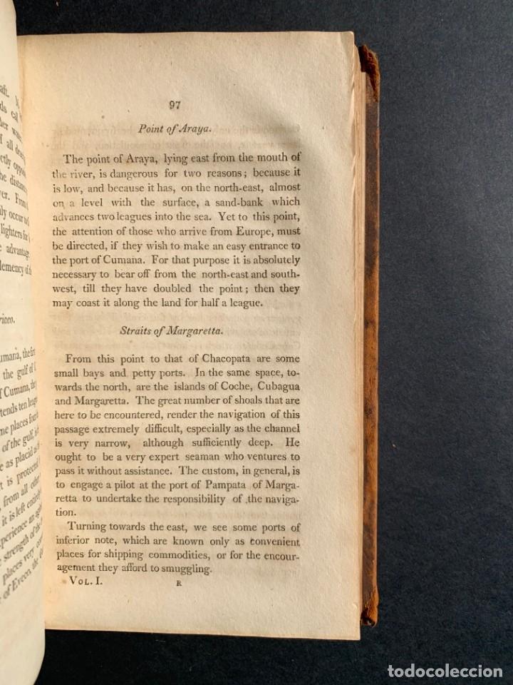 Libros antiguos: 1806 - A VOYAGE TO The Spanish Main - Historia sudamerica - Viajes - Caracas - Mapa - Foto 22 - 183063661