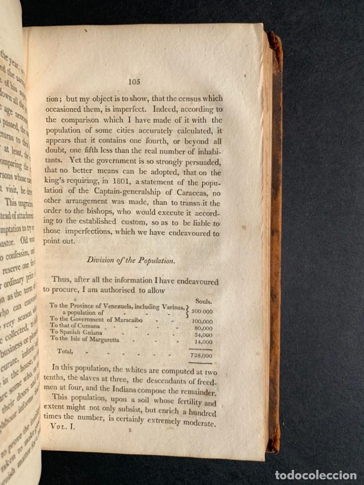 Libros antiguos: 1806 - A VOYAGE TO The Spanish Main - Historia sudamerica - Viajes - Caracas - Mapa - Foto 23 - 183063661