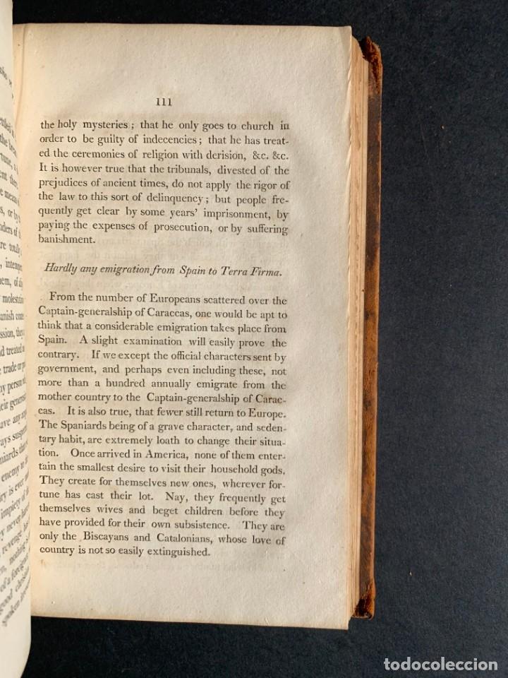 Libros antiguos: 1806 - A VOYAGE TO The Spanish Main - Historia sudamerica - Viajes - Caracas - Mapa - Foto 25 - 183063661