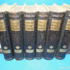 Libros antiguos: GEOGRAFIA GENERAL DE CATALUNYA. DIRIGIDA PER. CARRERAS I CANDI, FRANCESC. (6 VOL.OBRA COMPLETA). Lote 183068560