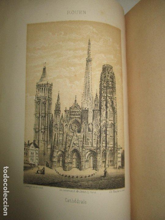 Libros antiguos: GUIDE COMPLET DE L'ÉTRANGER A ROUEN ET DANS SES ENVIRONS. PETIT, L. c. 1865. - Foto 5 - 183363248