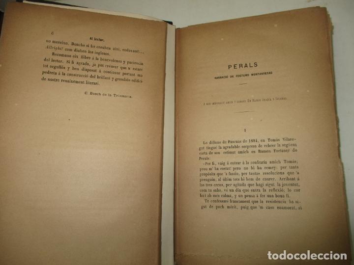 Libros antiguos: RECORTS D'UN EXCURSIONISTA. BOSCH DE LA TRINXERIA, C. 1887. PRIMERA EDICIÓ. - Foto 3 - 183365846