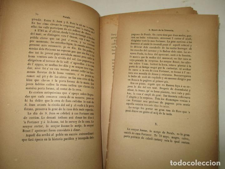 Libros antiguos: RECORTS D'UN EXCURSIONISTA. BOSCH DE LA TRINXERIA, C. 1887. PRIMERA EDICIÓ. - Foto 4 - 183365846