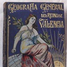 Libros antiguos: GEOGRAFÍA GENERAL DEL REINO DE VALENCIA, FRANCISCO CARRERAS - PROVINCIA DE VALENCIA II. Lote 183441583