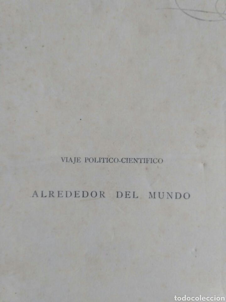 Libros antiguos: Viajes de las Corbetas Descubierta y Atrevida. Expedición Malaspina. Madrid, 1885. Primera edición. - Foto 5 - 183740995