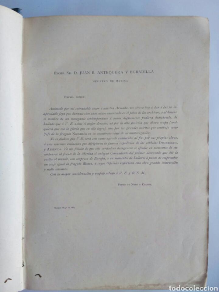 Libros antiguos: Viajes de las Corbetas Descubierta y Atrevida. Expedición Malaspina. Madrid, 1885. Primera edición. - Foto 10 - 183740995