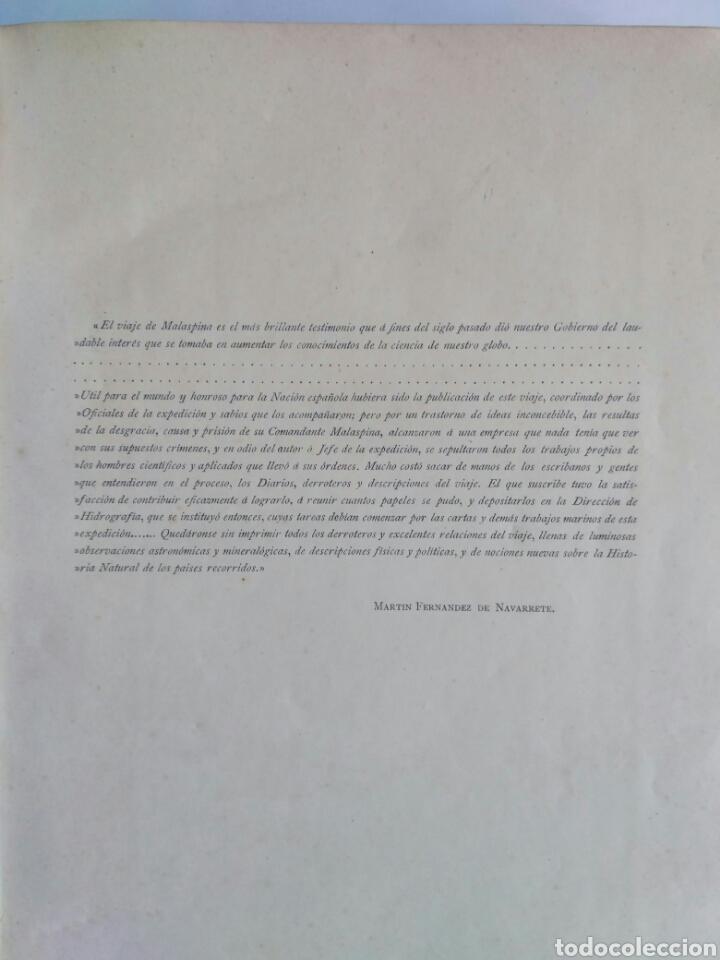 Libros antiguos: Viajes de las Corbetas Descubierta y Atrevida. Expedición Malaspina. Madrid, 1885. Primera edición. - Foto 11 - 183740995