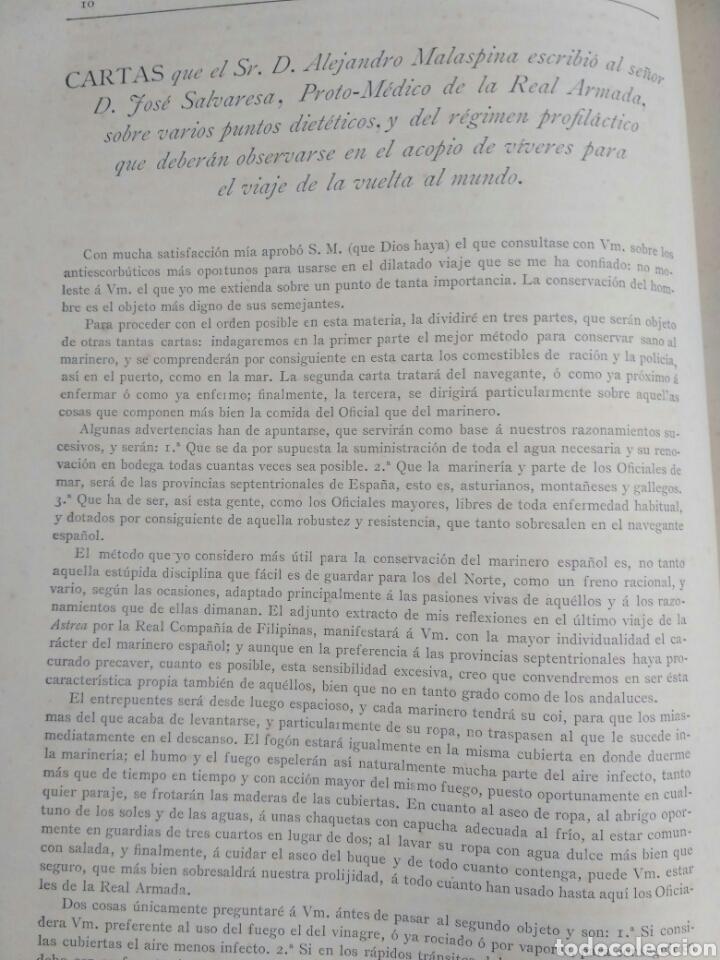 Libros antiguos: Viajes de las Corbetas Descubierta y Atrevida. Expedición Malaspina. Madrid, 1885. Primera edición. - Foto 21 - 183740995