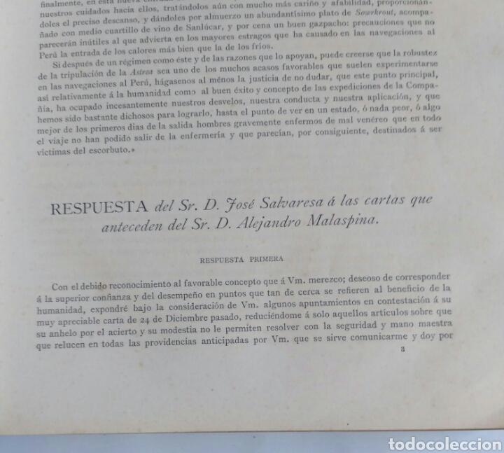 Libros antiguos: Viajes de las Corbetas Descubierta y Atrevida. Expedición Malaspina. Madrid, 1885. Primera edición. - Foto 22 - 183740995