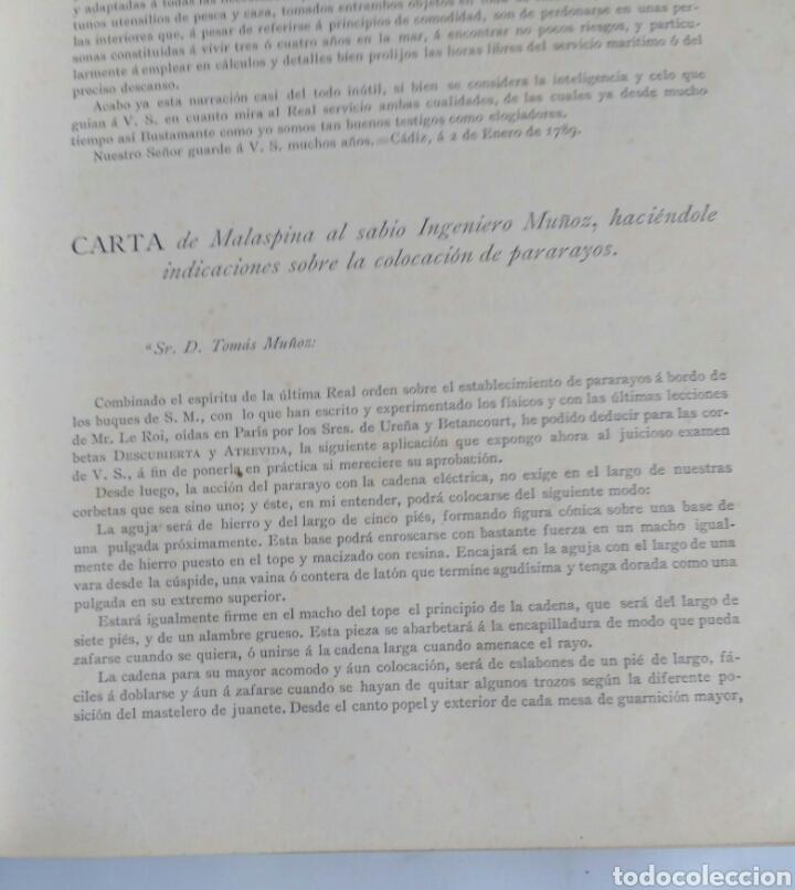 Libros antiguos: Viajes de las Corbetas Descubierta y Atrevida. Expedición Malaspina. Madrid, 1885. Primera edición. - Foto 23 - 183740995