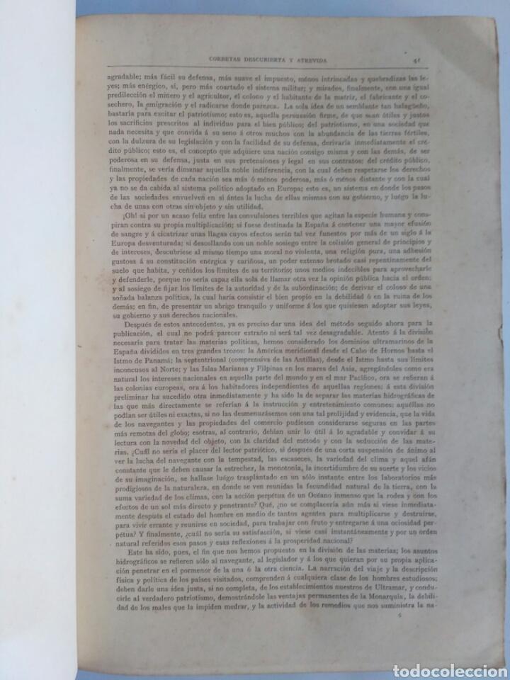 Libros antiguos: Viajes de las Corbetas Descubierta y Atrevida. Expedición Malaspina. Madrid, 1885. Primera edición. - Foto 28 - 183740995