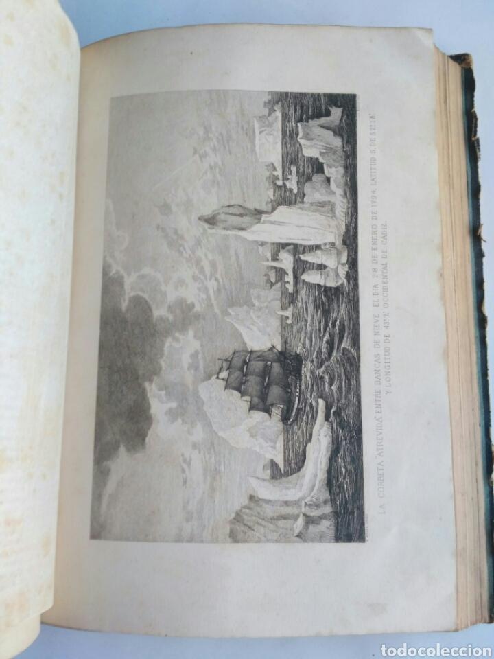 Libros antiguos: Viajes de las Corbetas Descubierta y Atrevida. Expedición Malaspina. Madrid, 1885. Primera edición. - Foto 37 - 183740995