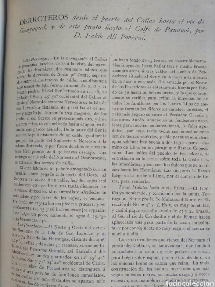 Libros antiguos: Viajes de las Corbetas Descubierta y Atrevida. Expedición Malaspina. Madrid, 1885. Primera edición. - Foto 43 - 183740995