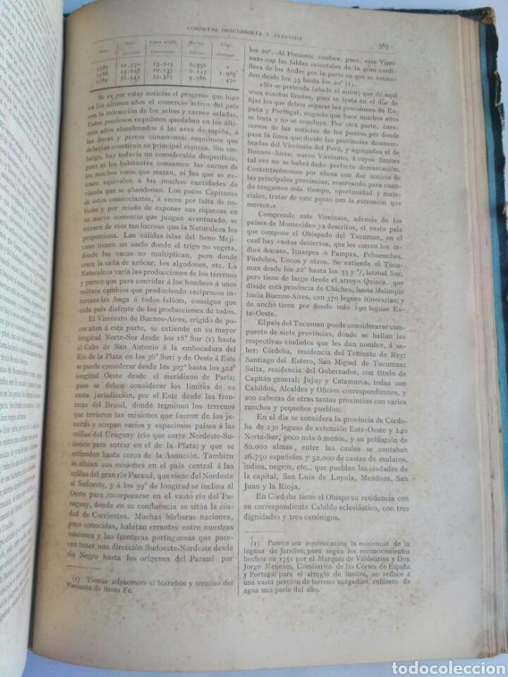 Libros antiguos: Viajes de las Corbetas Descubierta y Atrevida. Expedición Malaspina. Madrid, 1885. Primera edición. - Foto 44 - 183740995