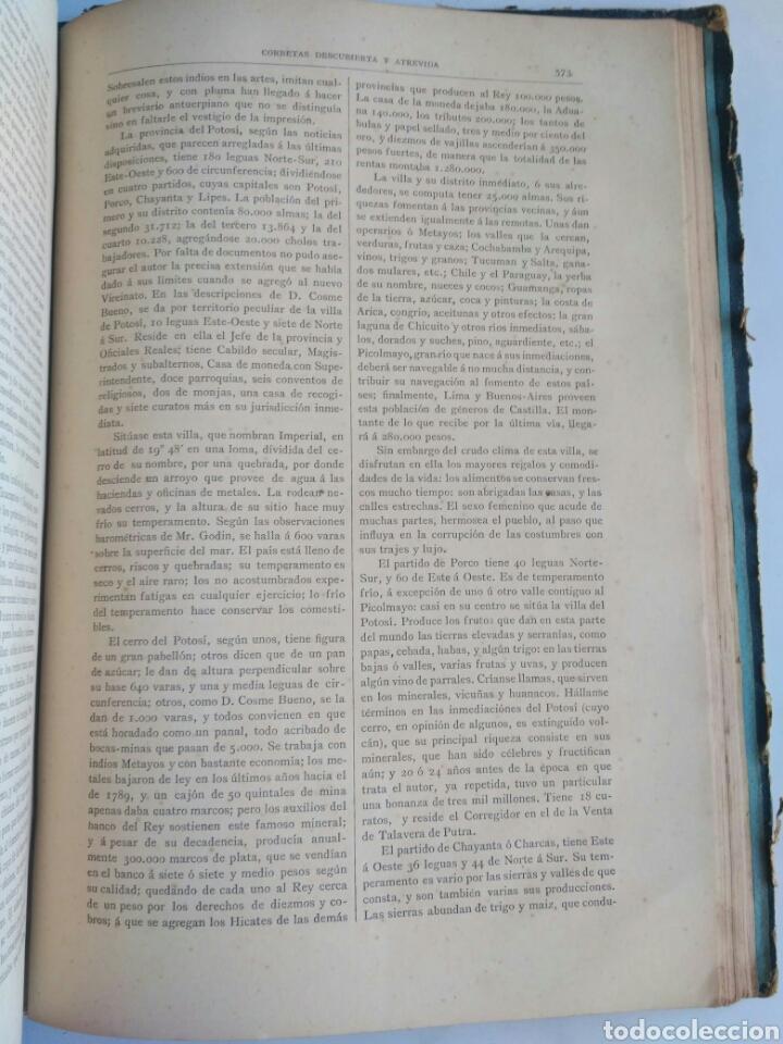 Libros antiguos: Viajes de las Corbetas Descubierta y Atrevida. Expedición Malaspina. Madrid, 1885. Primera edición. - Foto 45 - 183740995