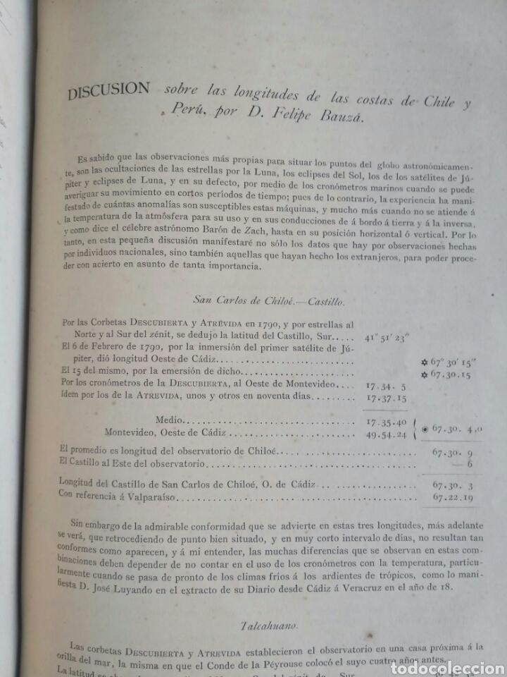 Libros antiguos: Viajes de las Corbetas Descubierta y Atrevida. Expedición Malaspina. Madrid, 1885. Primera edición. - Foto 47 - 183740995