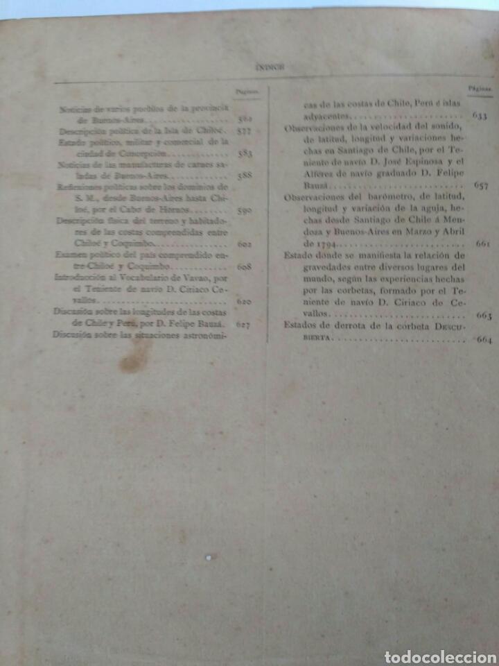 Libros antiguos: Viajes de las Corbetas Descubierta y Atrevida. Expedición Malaspina. Madrid, 1885. Primera edición. - Foto 51 - 183740995