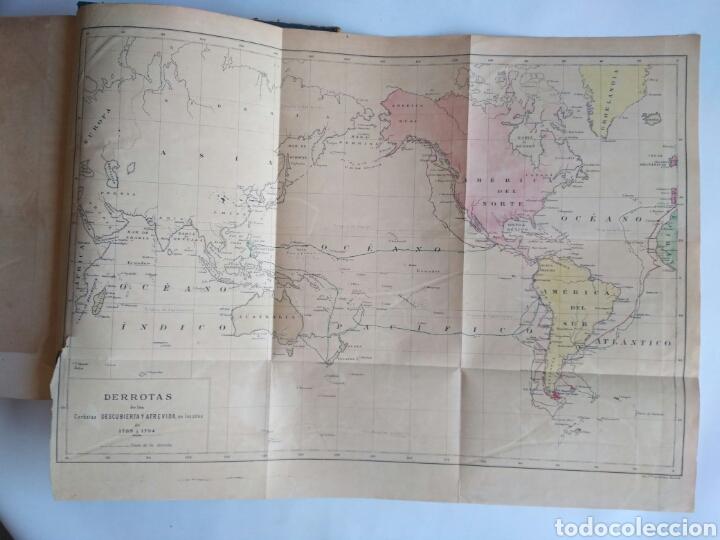 Libros antiguos: Viajes de las Corbetas Descubierta y Atrevida. Expedición Malaspina. Madrid, 1885. Primera edición. - Foto 55 - 183740995