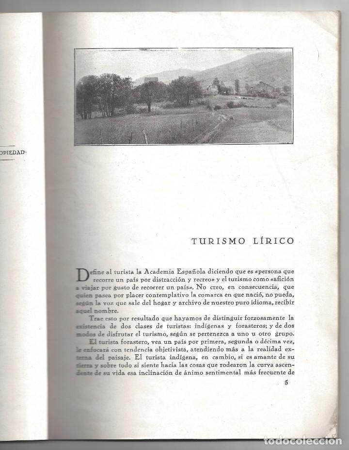 Libros antiguos: TRÍPTICOS DE LA MONTAÑA. FRANCISCO CUBRÍA SAINZ. SANTANDER. 1932- DEDICADO - Foto 4 - 183765848