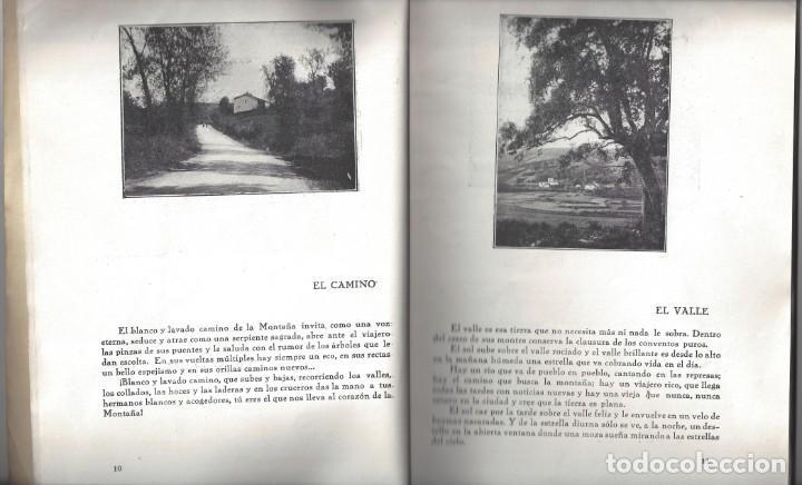 Libros antiguos: TRÍPTICOS DE LA MONTAÑA. FRANCISCO CUBRÍA SAINZ. SANTANDER. 1932- DEDICADO - Foto 5 - 183765848