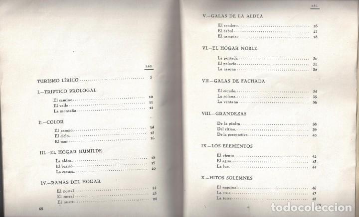Libros antiguos: TRÍPTICOS DE LA MONTAÑA. FRANCISCO CUBRÍA SAINZ. SANTANDER. 1932- DEDICADO - Foto 7 - 183765848