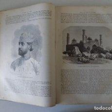 Libros antiguos: LIBRERIA GHOTICA. EL MUNDO EN LA MANO. MONUMENTAL OBRA EN 4 TOMOS.1878. MULTITUD DE GRABADOS.. Lote 183783881