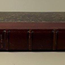 Libros antiguos: VOYAGES EN SUISSE ET EN ITALIE. GOETHE. LIBR. HACHETTE ET CIE. PARÍS. 1878.. Lote 183922875