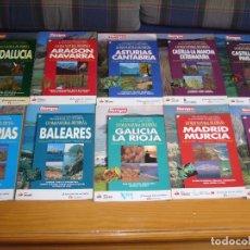 Libros antiguos: COLECCIÓN COMPLETA LO MÁS NATURAL DE ESPAÑA DE LA REVISTA TIEMPO. Lote 184346012