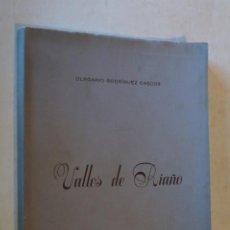 Libros antiguos: VALLES DE RIAÑO. OLEGARIO RODRIGUEZ CASCOS.. Lote 184596427