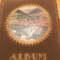 Libros antiguos: ALBUM MERAVELLA, LLIBRE DE BELLESES NATURALS I ARTÍSTIQUES DE CATALUNYA. Lote 185983973