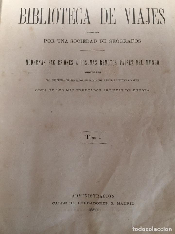 Libros antiguos: Biblioteca de Viajes - Foto 3 - 186289696