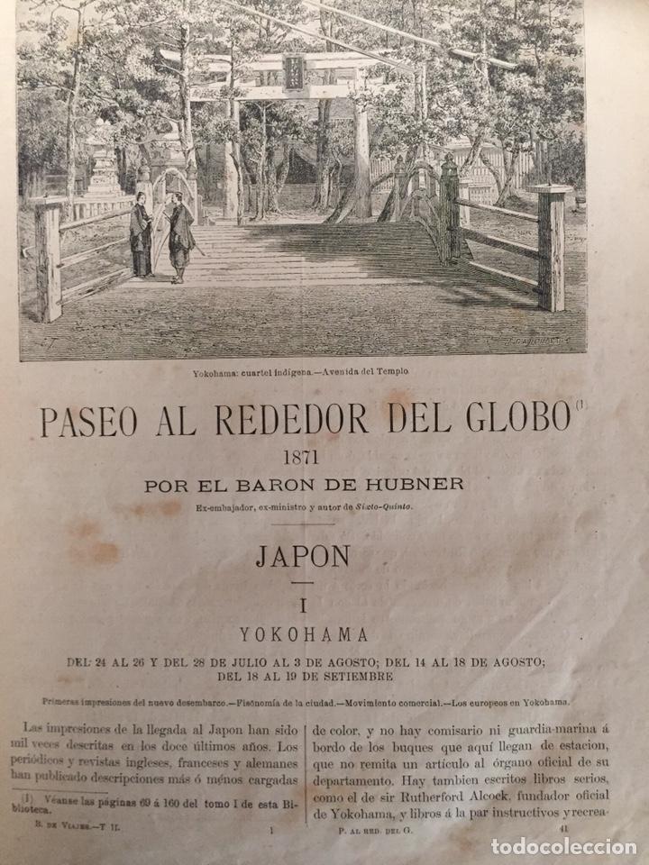 Libros antiguos: Biblioteca de Viajes - Foto 5 - 186289696