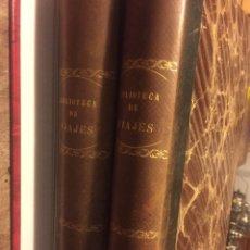 Libros antiguos: BIBLIOTECA DE VIAJES. Lote 186289696