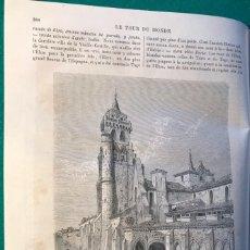 Livres anciens: GALICIA, ASTURIAS, BURGOS. VIAJES, 1873. DORE & DAVILLIER. Lote 187194308