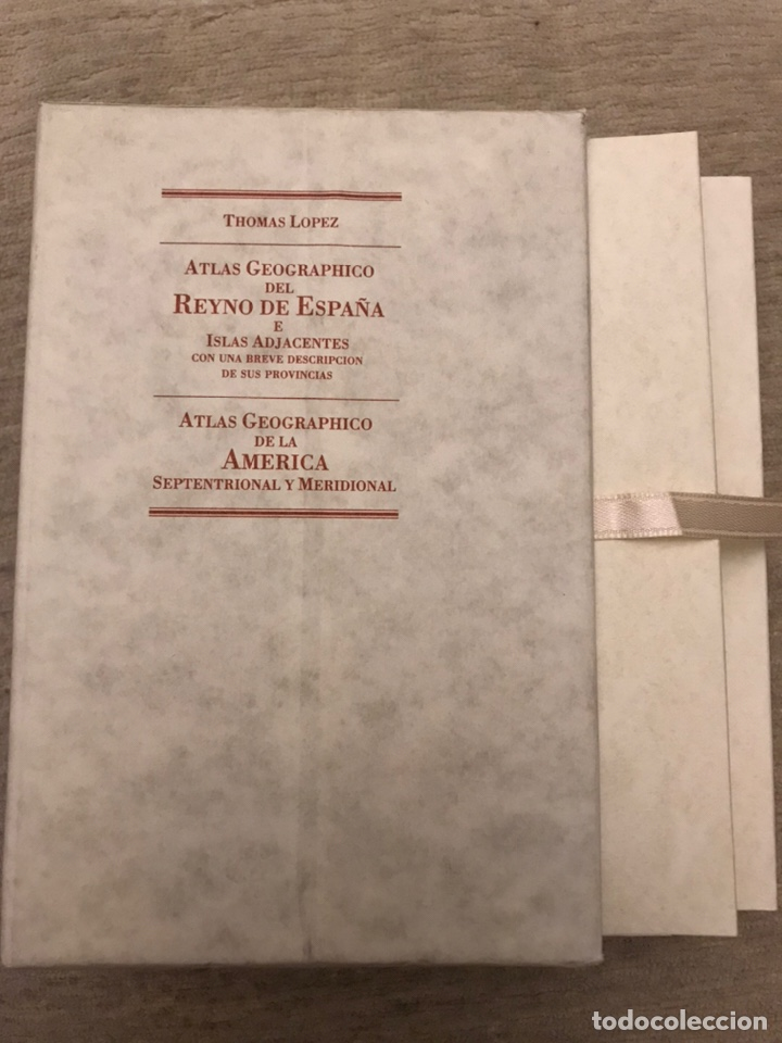 ATLAS GEOGRAPHICO DEL REYNO DE ESPAÑA E ISLAS ADJACENTES (Libros Antiguos, Raros y Curiosos - Geografía y Viajes)