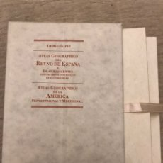 Libros antiguos: ATLAS GEOGRAPHICO DEL REYNO DE ESPAÑA E ISLAS ADJACENTES. Lote 187221817