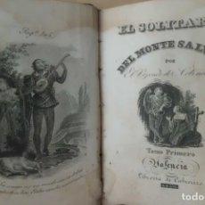 Libros antiguos: EL SOLITARIO DEL MONTE SALVAGE, AÑO 1.830. Lote 187427465
