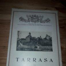Libros antiguos: TARRASA POR MANUEL MARINEL.LO BIBLIOTECA TURISMO ATRACCION FORASTEROS - TERRASSA. Lote 187437887